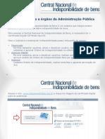 CENTRAL NACIONAL DE INDISPONIBILIDADE DE BENS (PODER JUDICIÁRIO BRASILEIRO)