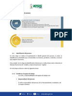 identificacion de procesos IESS