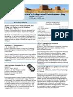 COE Professional Development Day