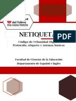 Normas de Netiqueta - Universidad del Tolima_