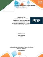 Unidad 2 Fase 3 - Planificar Sistema de Gestión Ambiental_Grupo 62