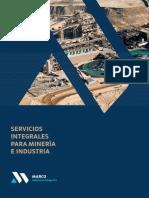 Brochure Serv. mineria e industria 2019