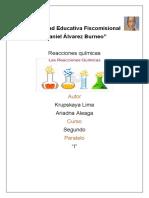 Informe de Quimica Grupal