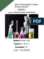 Informe de a práctica de laboratorio