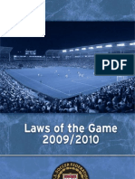 2009 Laws of the Game
