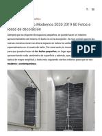 Baños Pequeños Modernos 2020 2019 80 Fotos e Ideas de decoración _ ÐecoraIdeas.pdf