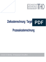 06 WR Zielkostenrechnung  Prozesskostenrechnung