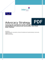 Advocacy Strategy- Completed