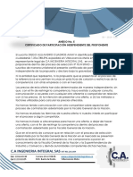 14. CERTIFICADO DE PARTICIPACIÓN INDEPENDIENTE DEL PROPONENTE.pdf