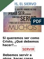 JESÚS EL VERDADERO SIERVO