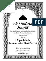 Aqeedah De Imaam Abu Hanifa