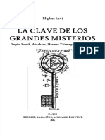 Eliphas Levi - La clave de los grandes misterios.pdf