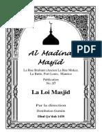 Ban La Lois Concernant Masjid
