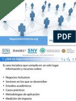 Negocios Inclusivos y TIC