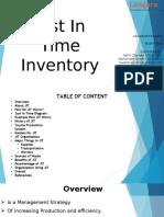JIT Inventory