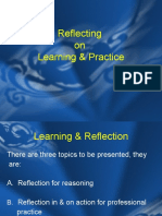 4 Reflecting on Learning Practice for Web