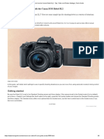 How to Use the Canon Rebel SL2 - Tips, Tricks and Picture Settings _ Tom's Guide.pdf