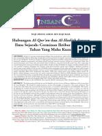 Hubungan Al-Qur'an dan Al-Hadith dengan Ilmu Sejarah. Cerminan Iktibar daripada Tuhan Yang Maha Kuasa