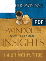 Insights on 1 & 2 Timothy, Titus by Charles Swindoll, Excerpt