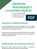 07. CIRCUITOS COMBINACIONALES Y FUNCIONES LÓGICAS