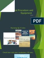 TM 2_Medical Procedure and Equipment [Autosaved].pptx