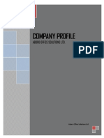 Company Profile Sample for Office Supplies Business