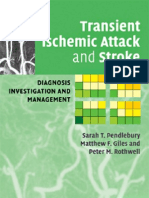 Transcient Ishemic Attack and Stroke