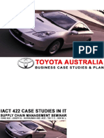 Toyota Production System Bussiness Case Studies Plan 19345