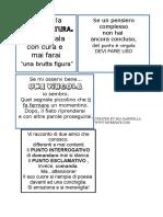 La punteggiatura .Le regole in bw.Scheda vedi quaderni. pdf