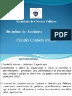 Auditoria Palestra controlo interno