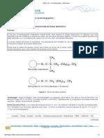 chrom d'adsorption en phase inverse
