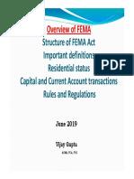 FEMA Overview_Vijay Gupta - June 2019.pdf