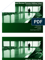 Management Review Presentation - ASQ Granite Section 20110922