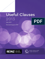 2018 - Useful Clauses 21-08-2018