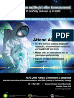 AAPG 2011 Annual Convention & Exhibition -- Technical Program & Registration Announcement