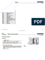 Scania P, G, R, T Series Workshop Manual - Removing the Retarder Part 2