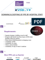 DONNING & DOFFING OF PPE v2