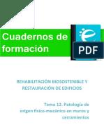 Tema 12. Módulo I. Patología en origen físico mecánico en muros y cerramientos (1).pdf
