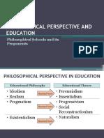 IDEALISM IN PHILOSOPHY OF