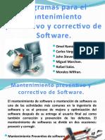 diapositivaomel mantenimiento preventivo y correctivo de software-100523184827-phpapp02.pptx