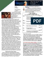 Bulletin - April 19, 2020