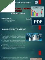 ICR assignmnet (Mahesh Sahu MBA-IB 4th sem)