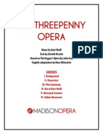The Threepenny Opera Guide