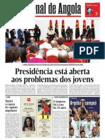 Jornal de Angola de 20.07.2019