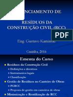 Curso - Gerenciamento de RCC