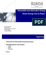 Green Energy Risks