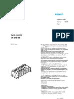018205 Input Module CP E16