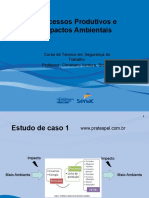 PPT do curso Processos Produtivos e Impactos Ambientais