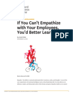 If you can't empathize with your employees