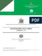 Geo Syllabus